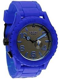 Nixon Men's 51-30 A236306 Blue Rubber Swiss Quartz Watch