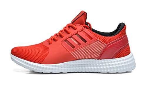 Comfortable Running Go Walking PAIRS New Mens Easy Black Casual DREAM Light red 160821 Athletic Sneakers 5003 Weight Shoes Y7x1wqPw