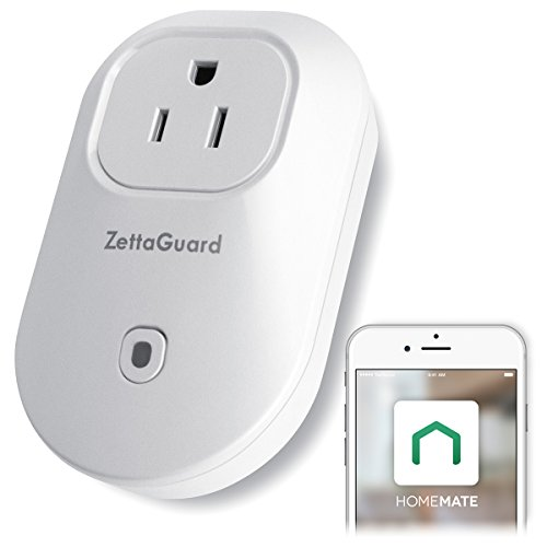 Zettaguard Wi-Fi Smart Plug Compatible with Google Home and...