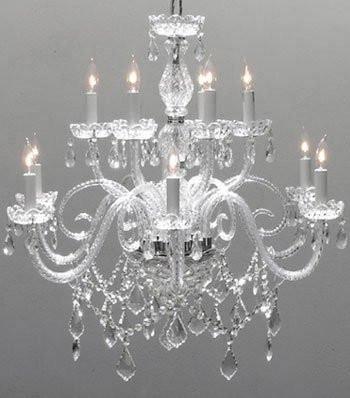 Gallery crystal chandelier lighting chandeliers size h27 x w32 gallery crystal chandelier lighting chandeliers size h27 x w32 aloadofball Images