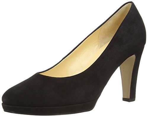 gamuza Gabor de de zapatos negra corte Splendid S de mujer q8qa1A