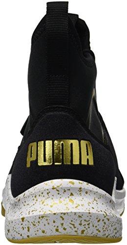 Pumas Femmes Phenom Or Wn Baskets Or Puma Black Team-pumas