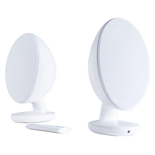 KEF EGG Wireless Speakers (Pair) White EGGWH