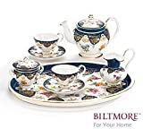 Vanderbilt Porcelain Miniature Teaset Designed From Biltmore House 1888 Sevres Tea Set