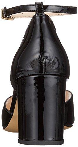 Unisa Logan_Pa, Escarpins Bout Ouvert Femme Noir (Black)