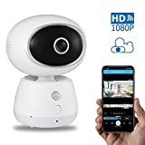 Cheap Wireless Home WiFi Security Camera – Omngin HD 1080P IP Home Indoor Pet Camera with Pan/Tilt/Zoom, Night Vision, 2-Way Audio, 98.74% Motion Detection Accuracy, Remote Viewing