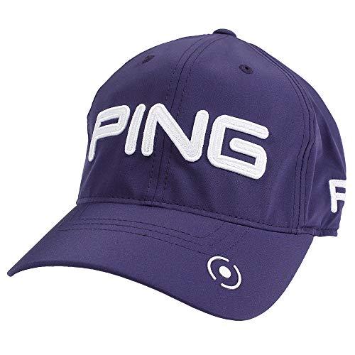 PING(ピン) 6パネル アンストラクチャー ツアー P.Y.B (33850) (ネイビー/ホワイト)