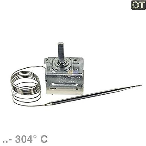 Termostato.. de 304 ° 55.17062.420 EGO 561149001 AEG, Electrolux, Juno, Zanussi: Amazon.es: Grandes electrodomésticos