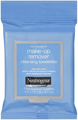 Neutrogena Make-up Remover Cleansing Towelettes Wipes (1 x 7 Pack) Travel Size