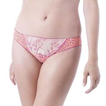 GO2BRAS Crystal Bikini 1453133 Peach Pink XX Large
