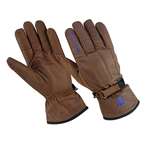 (Prima Victory MIRZAM All-Season General Purpose 100% Cowhide Leather Gloves for Men (Large) )