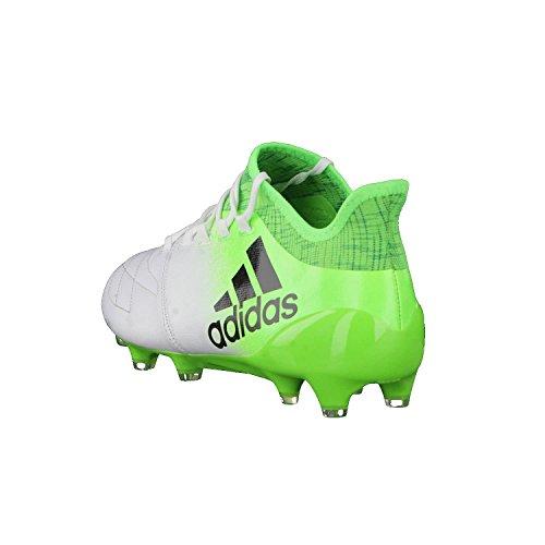 Adidas X 16.1Leather FG Fußballschuh Herren, Weiß–�?Ftwbla/negbas/Versol) FTWWHT/CBLACK/SGREEN