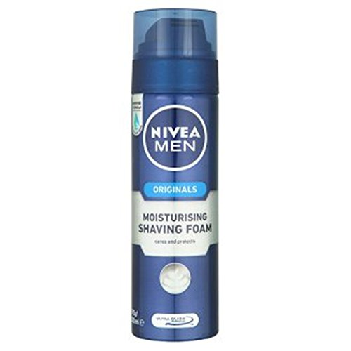 Nivea Men Originals Moisturising Shaving Foam 200ml.