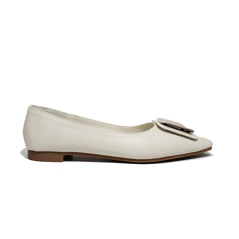Quality.A Womens Casual Shoes Comfortable Casual Non-Slip Low Heel Flat Shoes