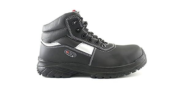 4Walk Silexecoplus S3 - Botas de Seguridad Puntera Composite - Negro: Amazon.es: Zapatos y complementos