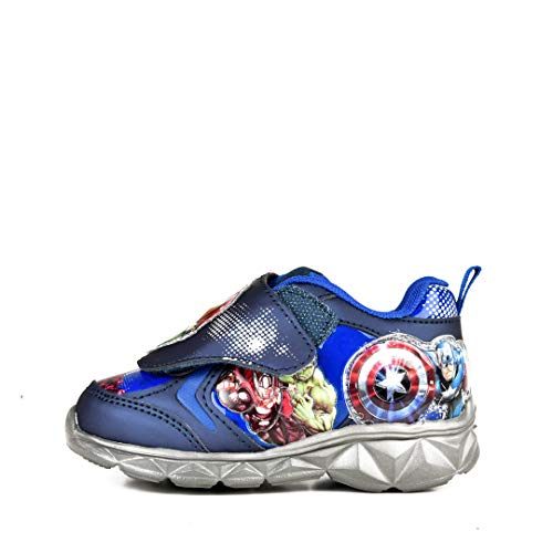 Marvel Avengers Lighted Athletic Shoes Blue Toddler/Little Kid (10 M US Toddler) -