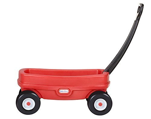 Little Tikes Lil' Wagon, Red (Wheel Plastic Wagon)