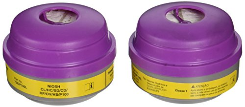 North 7583P100 Combination Filter P100/Organic Vapor/Acid Sas by North Safety (Image #1)