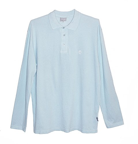 (Versace Jeans Sky Blue XXL Cotton Shirt Made in Italy)