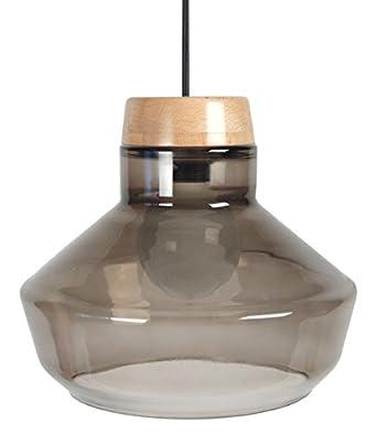 Holz Hängele tosel 15025 espoo hängeleuchte glas mundgeblasen holz buche natur