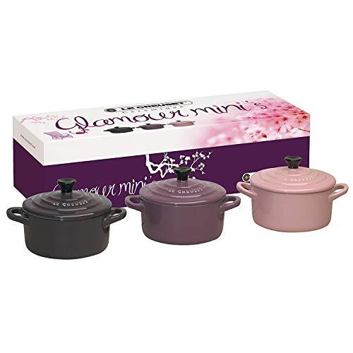 Le Creuset Les céramiques coffret de 3 mini cocottes