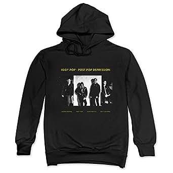 Men 39 s iggy pop post pop depression cover for Iggy pop t shirt amazon