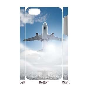 HOPPYS Diy hard Case Airplane customized 3D case For Iphone 4/4s