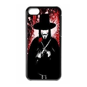 High Quality -ChenDong PHONE CASE- For Iphone 5c -V For Vendetta Design-UNIQUE-DESIGH 11