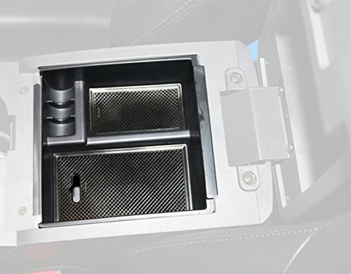 caartonn Car Center Console Armrest Box Glove Box Organizer Secondary Storage for Isuzu D-max Dmax 2012 2013 2014 2015 2016