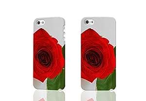 A Single Rose 3D Durable Hard Unique Case For iPhone 4 4S