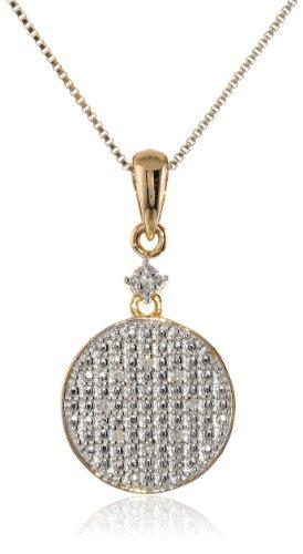 Prices for Diamond Circle Star Pendant - 9