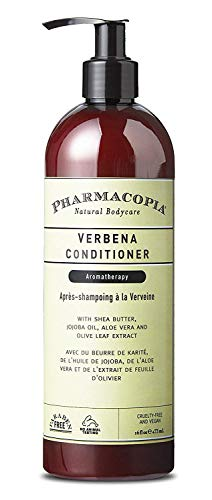 Pharmacopia Verbena Conditioner - Aromatherapy Hair & Scalp Care with Natural & Organic Ingredients - Vegan, Cruelty Free, Aromatic Conditioner, -