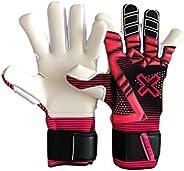 Goalkeeper Gloves ZHERO mod.Venus, New Brand Soccer Goalie 4 mm German Latex Soft Grip Hybrid-Negative Cut, Si