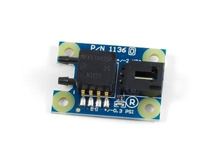 Differential Gas Pressure Sensor ±2 kPa: Amazon com