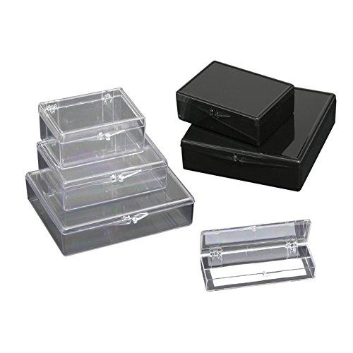 Med Opaque Box - Western Blot Box Opaque Blk, Med Rect 3½x2-9/16x1