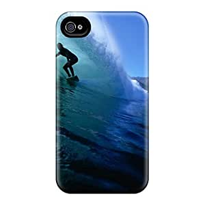 Iphone 4/4s Case, Premium Protective Case With Awesome Look - Surfing