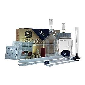Master Vintner 1 Gallon Wine Making Equipment Starter Kit With Recipe
