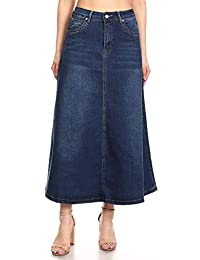 Earnest Khacki Broomstick Long Beachy Skirt 2x Clothing, Shoes & Accessories