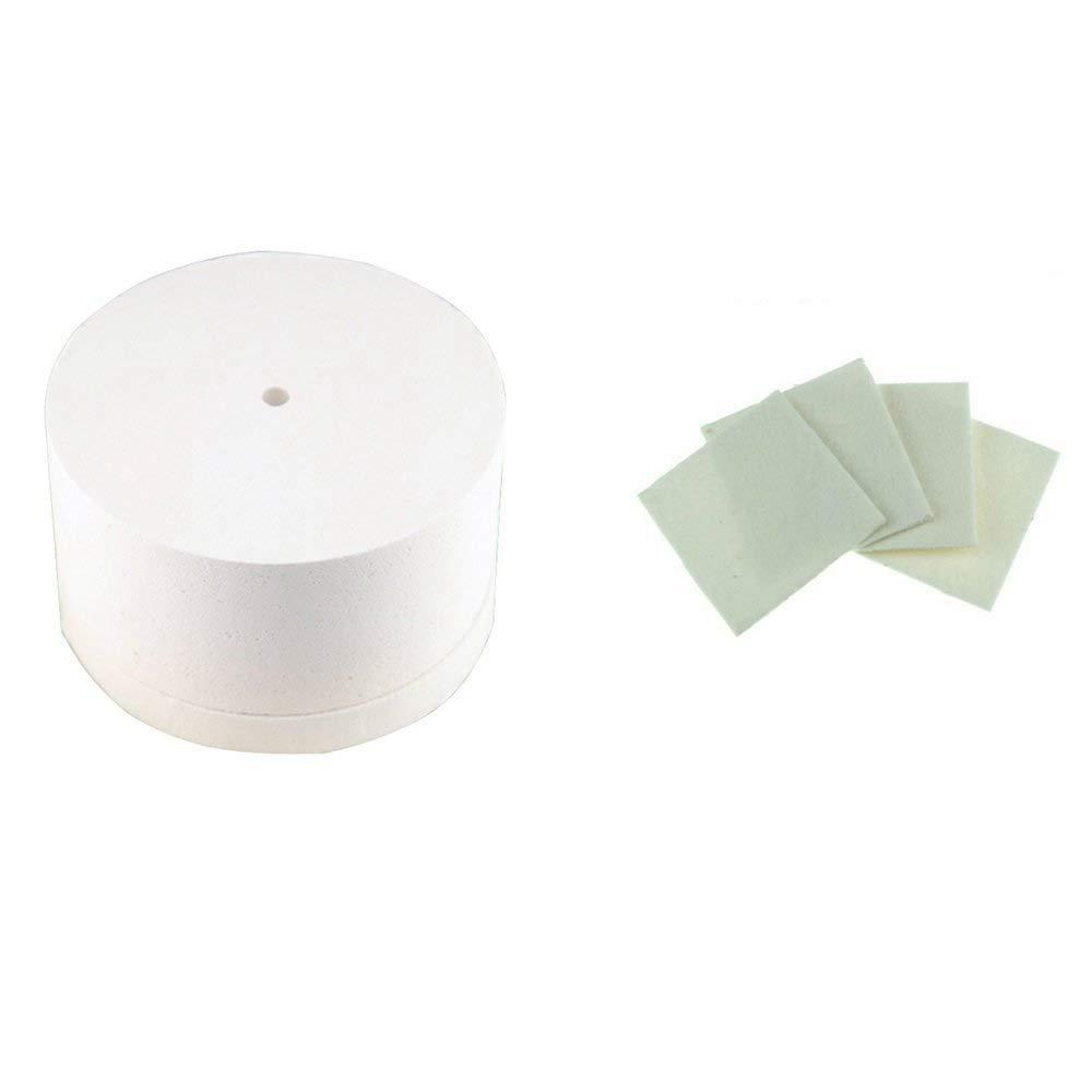 Professional Extra Large Microwave Kiln 19.5x11cm Glass Fusing Kiln + 10pcs Kiln Paper SSH-0791