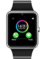 GT08 Smart Watch with SIM Card - Black