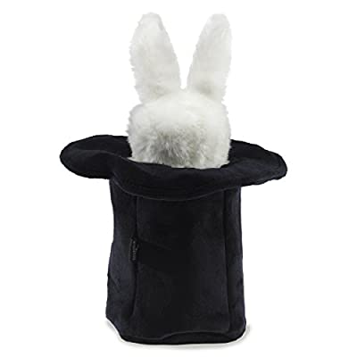 Folkmanis Rabbit In Hat Hand Puppet: Toys & Games