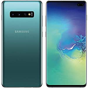 Samsung Galaxy S10 128GB+8GB RAM SM-G973F/DS Dual Sim 6.1″ LTE Factory Unlocked Smartphone (International Model No Warranty) (Prism Green)