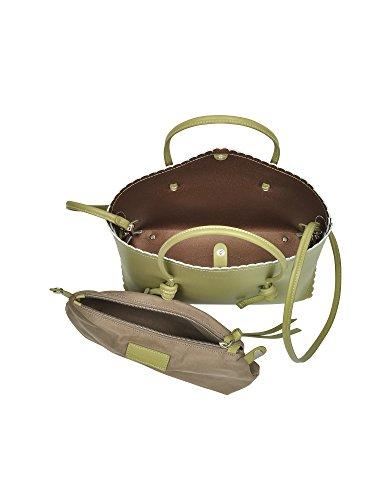 Coccinelle Borsa Shopping Donna E1AF0180101064 Pelle Verde