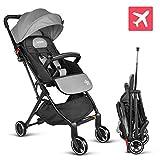 Best lightweight stroller - besrey Baby Stroller Pram Baby Carriage Reclining Seat Review