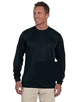 Augusta Sportswear Mens Wicking Long sleeve T-Shirt