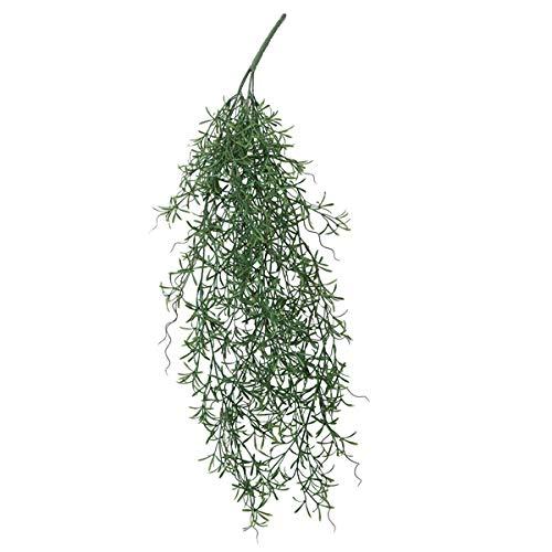 人工観葉植物 ホヤハンキングブッシュ(12個セット) ba720 (代引き不可) インテリアグリーン 造花 HANGING BUSH B07T22SL59