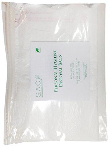S.A.C DB7000-MC White D2w Degradable Plastic Adult Diaper...