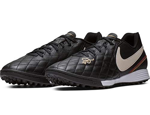 5a3c3fbfcc73 Nike Tiempo Legend 7 Academy 10R TF Soccer Shoes (Black/Orewood Brown)  (Men's 7/Women's 8.5)