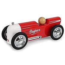 Baghera Thunder Red Mini Metal Car