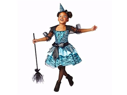 Kids Enchanted Witch Halloween Costume Includes Dress and Hat Size Large (Target Girls Witch Costume)